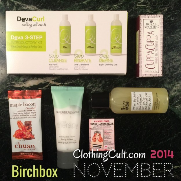 Birchbox November 2014 unboxing & ewg scores • ClothingCult.com