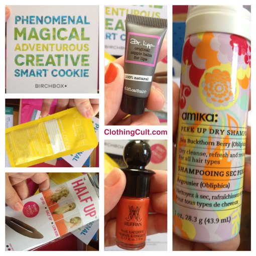 Birchbox September unboxing 2013
