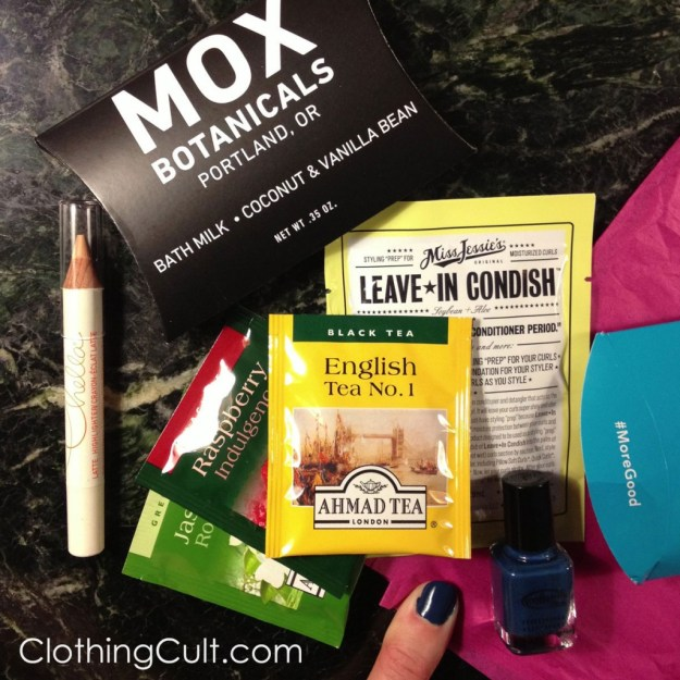 Birchbox unboxing and reviews November 2013 - ClothingCult.com