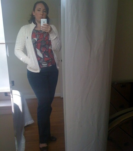 What I wore today – sorta