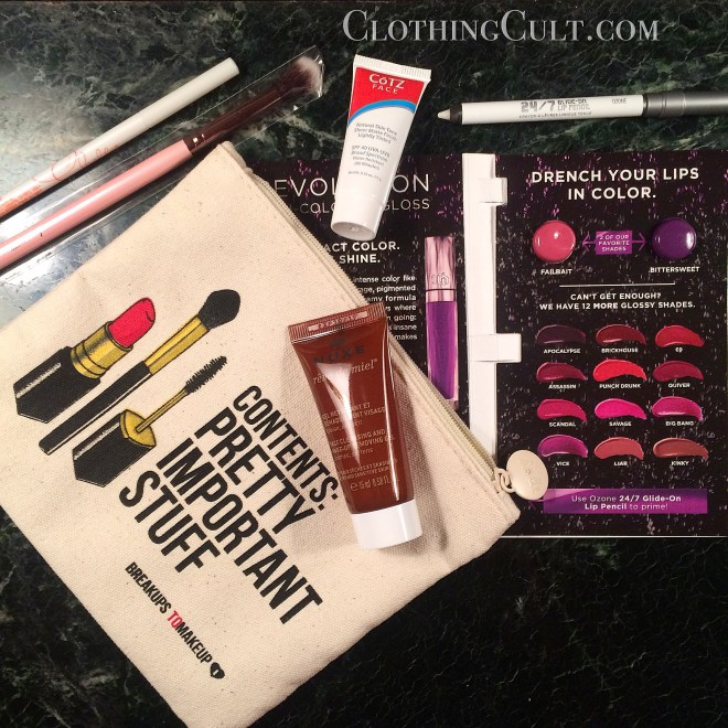 My Ipsy Glambag May 2015 - and EWG scores