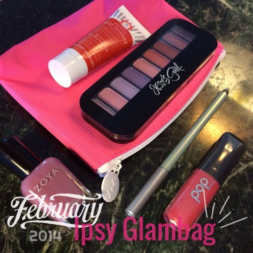 Ipsy Glambag unboxing February 2014