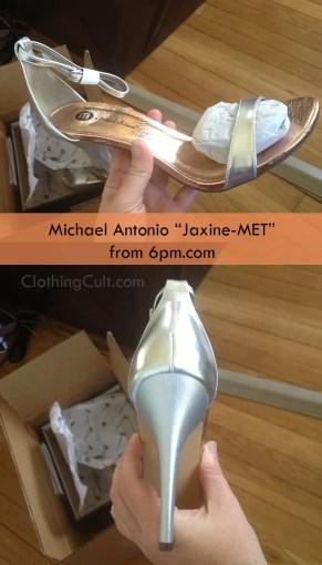 """Michael Antonio """"Jaxine-MET"""" Silver heel Review"""