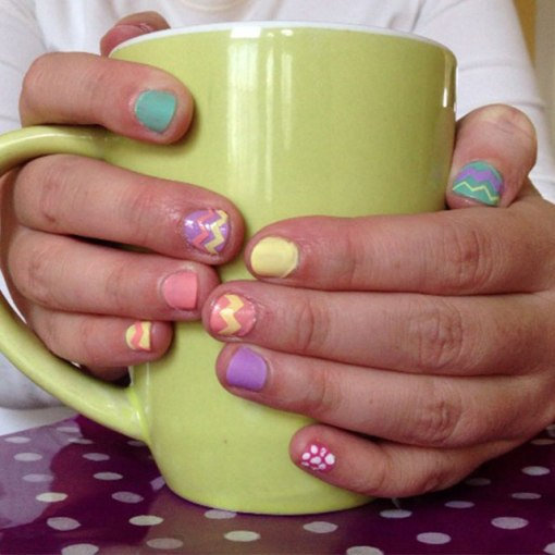 Easy Easter Nails – 3 options