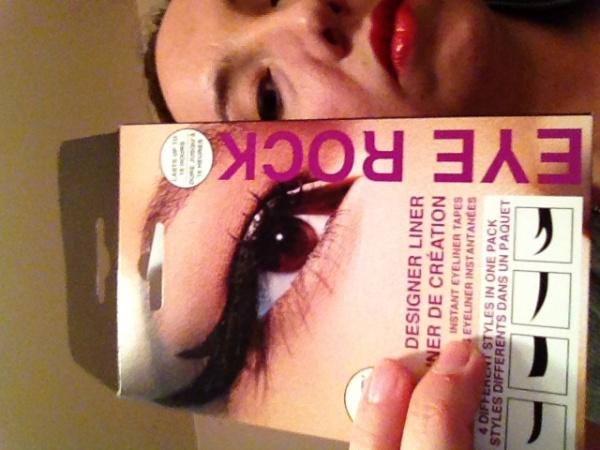 Birchbox February 2012 Exude Lip Creme Eye Rock Designer Liner Blk Dnm Perfume La Fresh