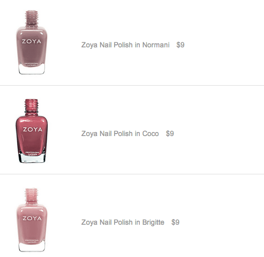 zoya Coco, Brigitte and Normani
