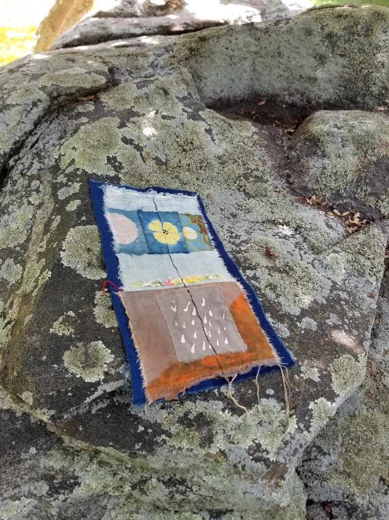 the sitting rock where I might consider standing  and what that implies