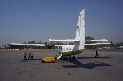 L'avion pour Lukla