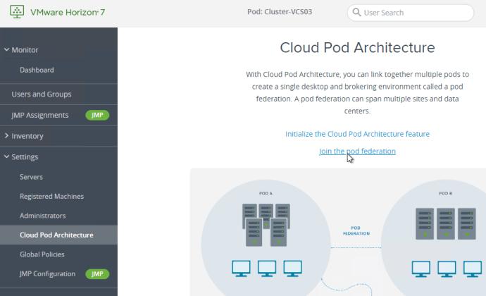 Cloud Pod Architecture