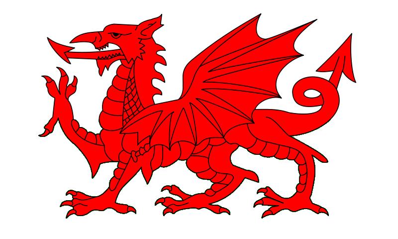 y ddraig goch - the red dragon