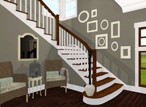 Remodeling Software Home Designer | New House Steps Design | Kerala Home | Outside | Home Stair Marble | Duplex House | Residential