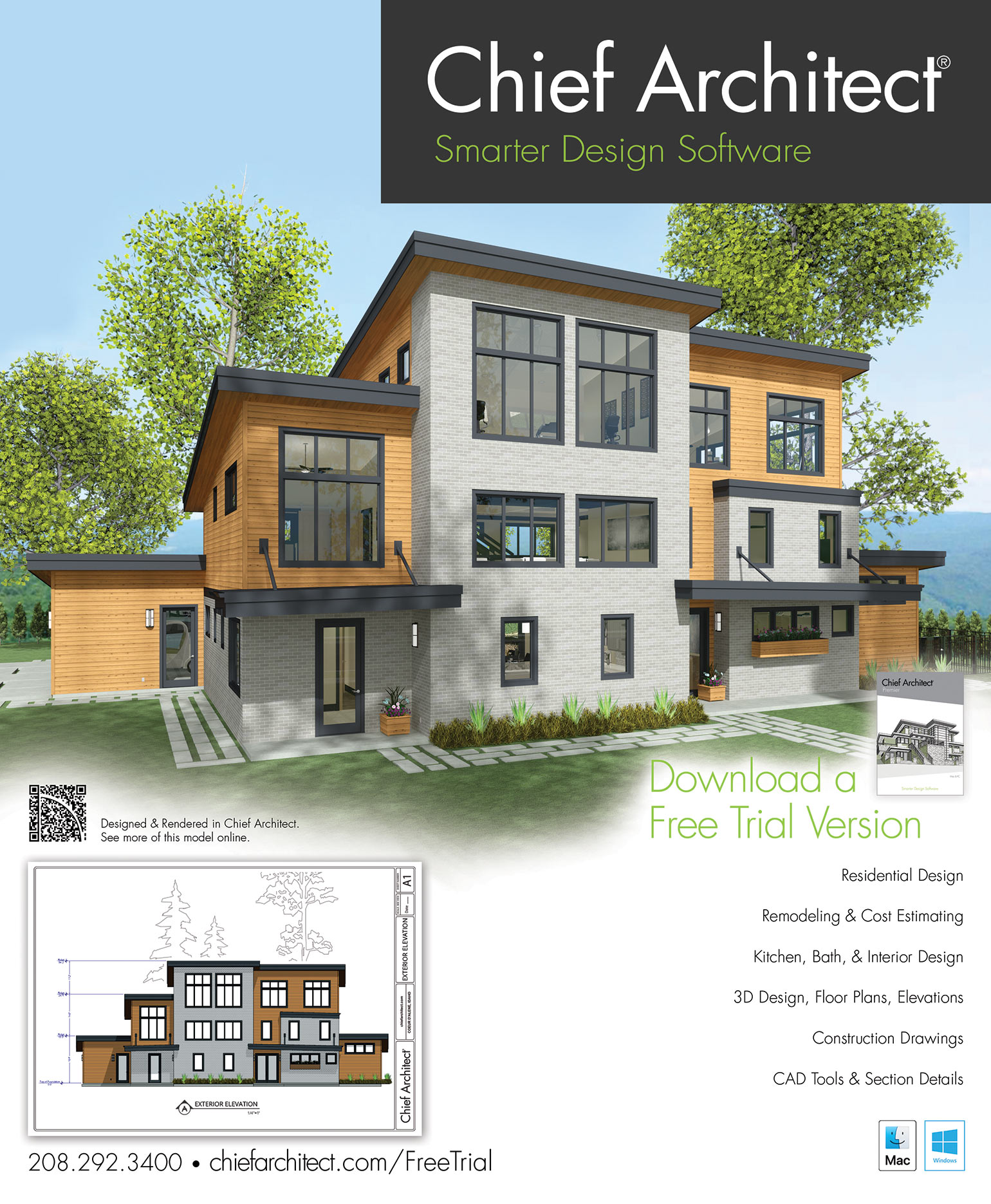 Home Design Software Free Download Full Version : design, software, download, version, Stone, Creek, Renovation, Sample, Software, Chief, Architect