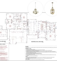 3d electrical plan [ 1600 x 1390 Pixel ]