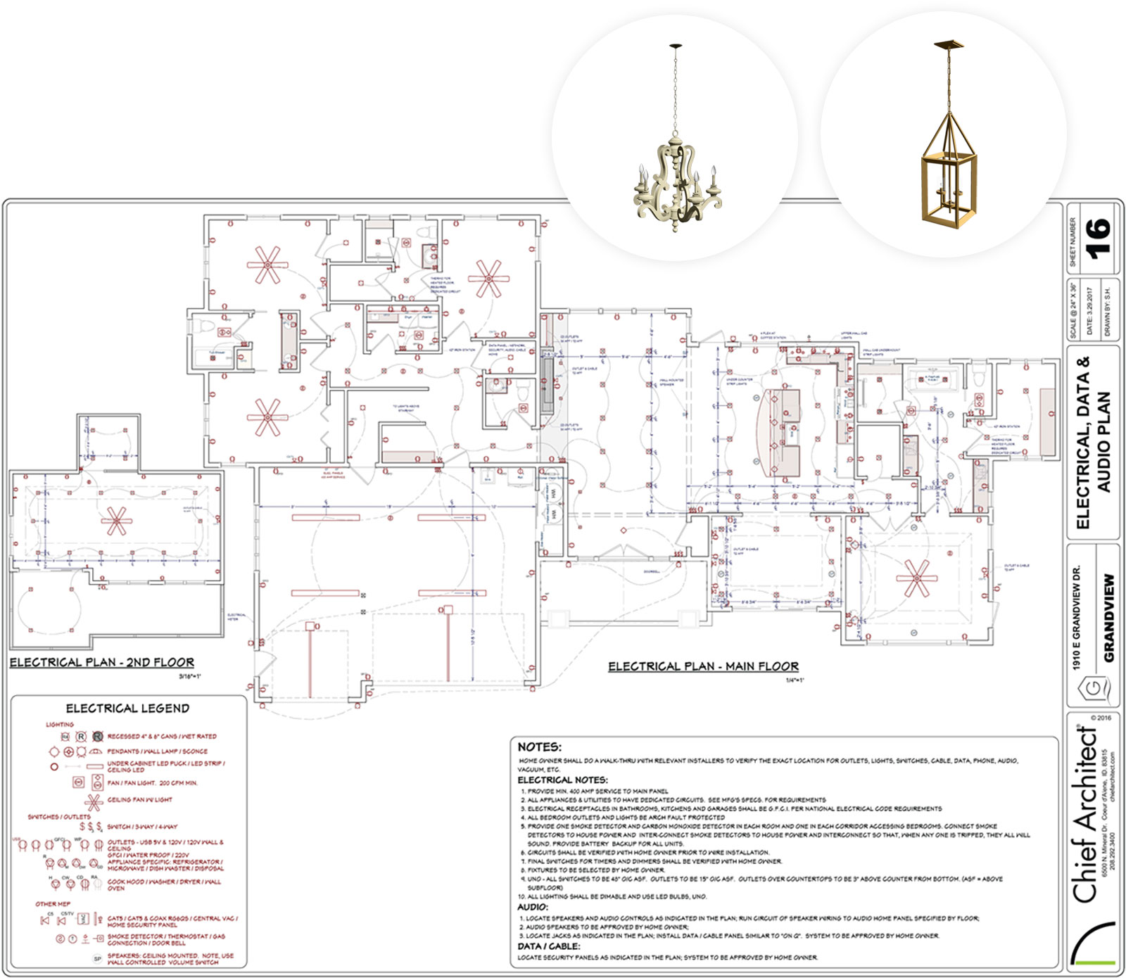 hight resolution of 3d electrical plan