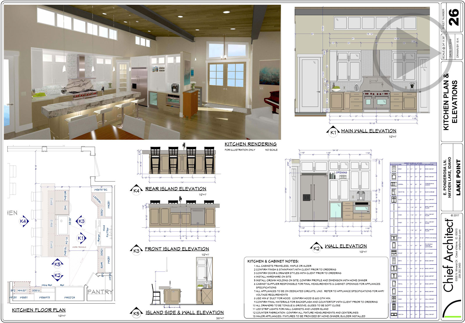 Kitchen Floor Plans With Dimensions