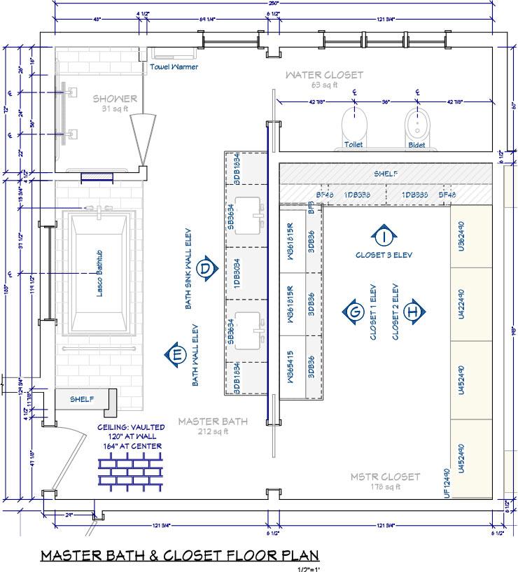 Interior Design Standard Sizes