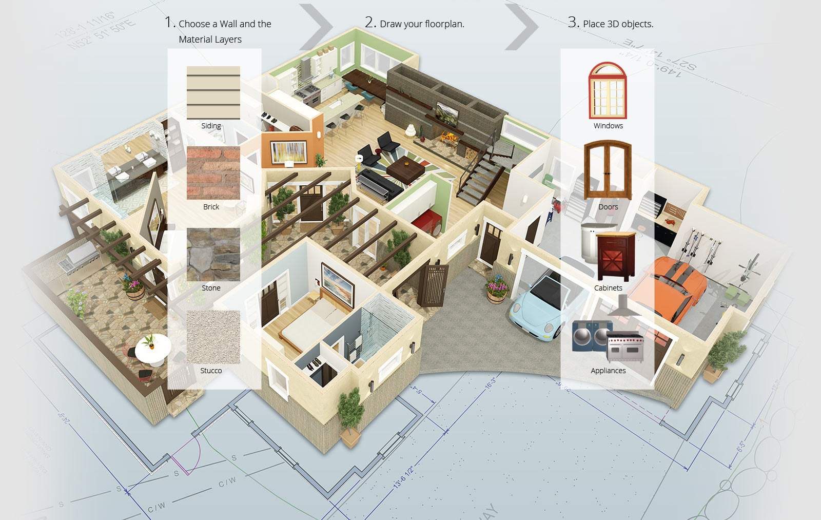 hight resolution of home design process in chief architect