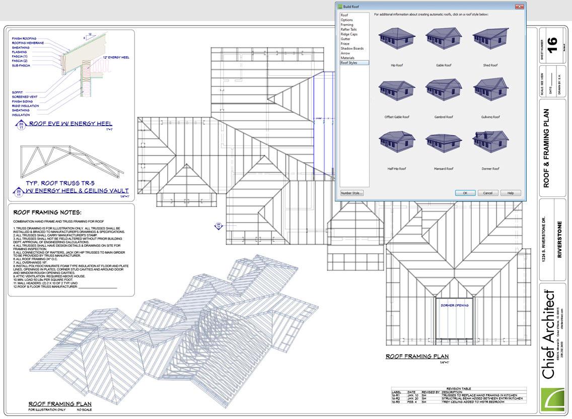 Residential Framing Design Software
