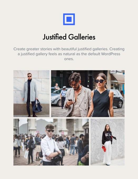 Justified Galleries
