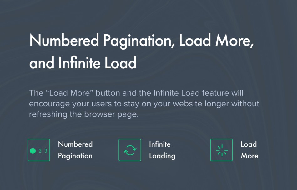 Numbered Pagination