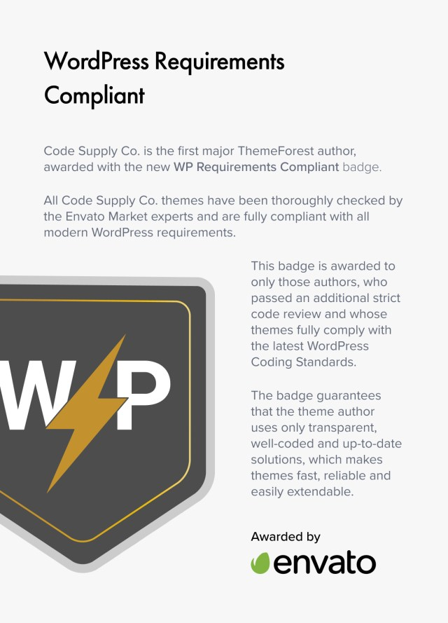 WP Requirements Compliant