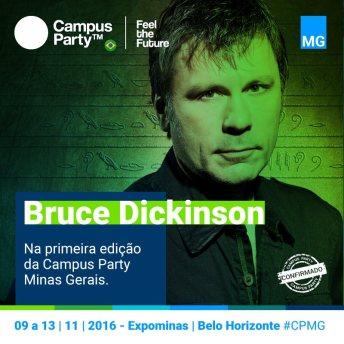 bruce Campus Party MG e Estação Nerd
