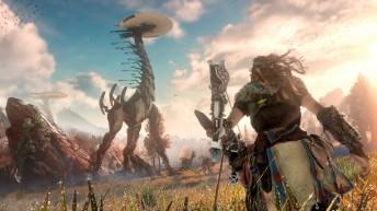 horizon-zero-dawn Confira impressões e gameplay de Horizon Zero Dawn para PS4