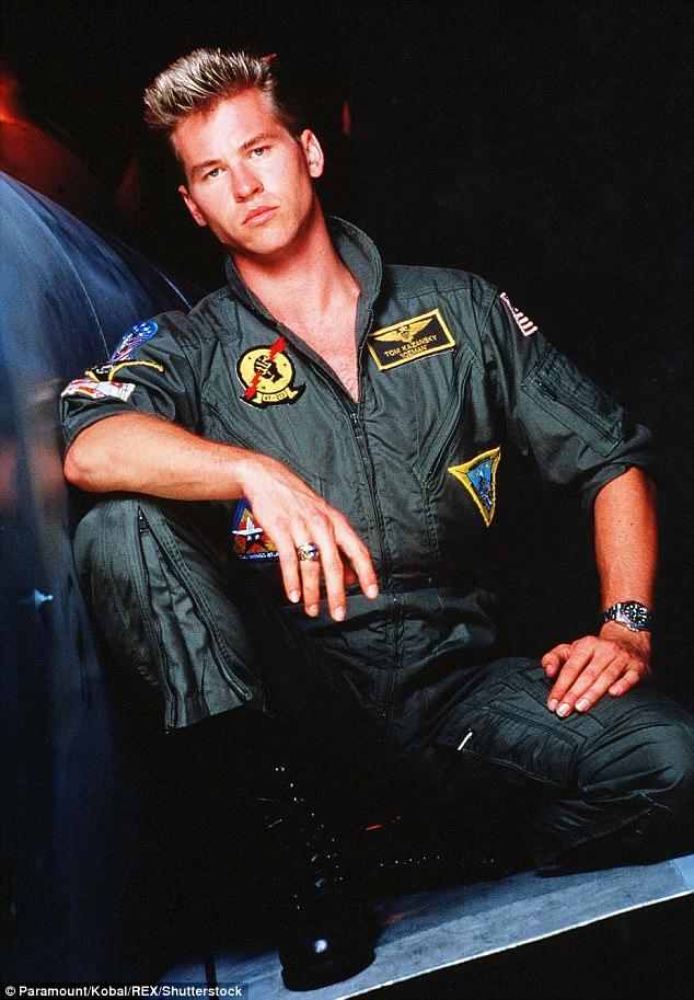 4CFCF95F00000578-5814539-image-m-8_1528323810490 Top Gun: Maverick | Val Kilmer deve reprisar o papel de Iceman no filme