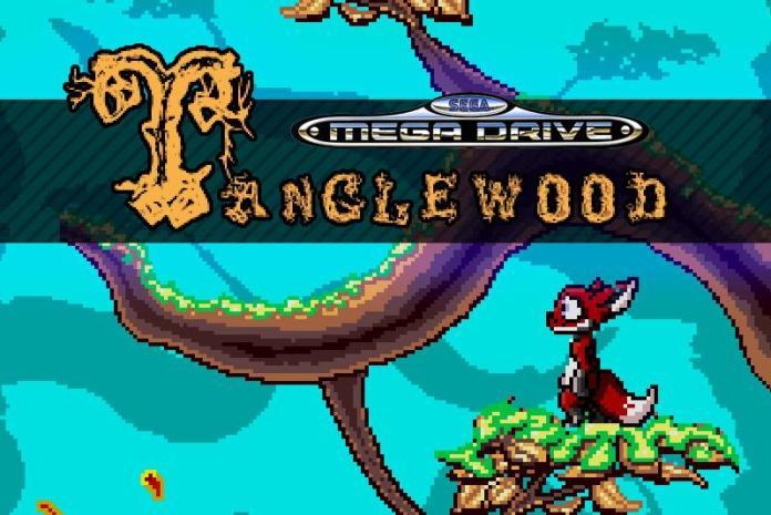 "2717-tanglewood-mega-drive-homebrew-on-kickstarter ""Tanglewood""| Novo jogo do Mega Drive traz a nostalgia dos anos 90!"