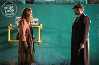 2 Supernatural   Sam e Castiel aparecem em novas fotos da 14ª temporada; Confira