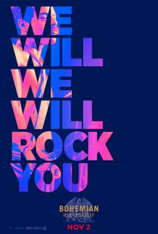 3 Bohemian Rhapsody | Novos cartazes estampam letras banda Queen; Confira