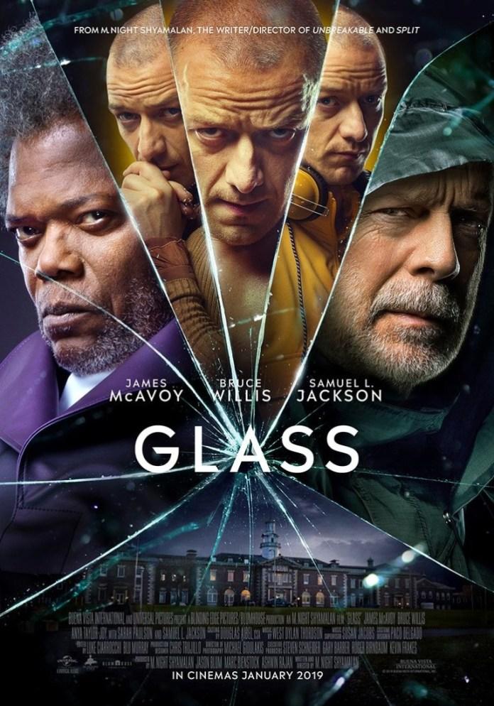 GLASS Vidro   Herói e vilões estampam novo pôster