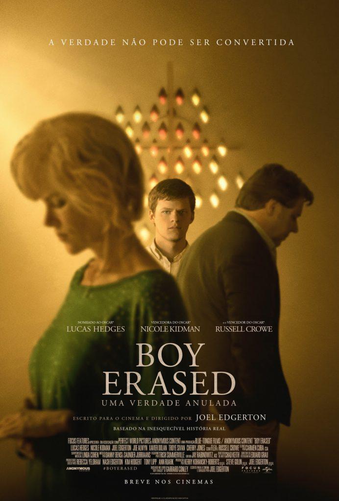 boy-erased-692x1024 Boy Erased: Uma Verdade Anulada | Filme ganha trailer e cartaz nacional; Confira!