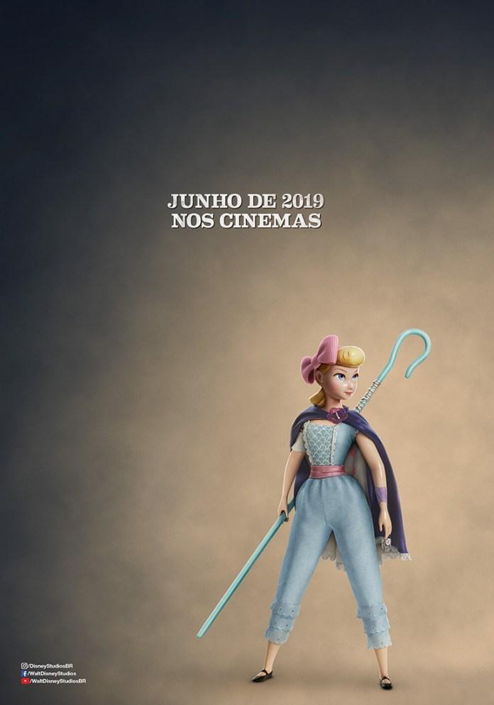 THUNDERBIRD_BO_PEEP_TEASER_POSTER_BRAZIL Toy Story 4 | Confira o novo pôster da animação!