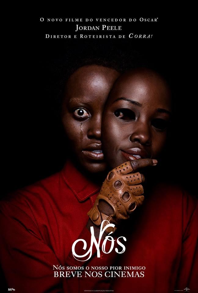 nos_3 Nós   Confira o novo e assustador cartaz do filme!