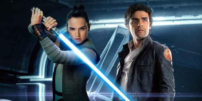 Rey-and-Poe-romance-in-Star-Wars-9 Disney+ promete transmitir todos os títulos da Disney