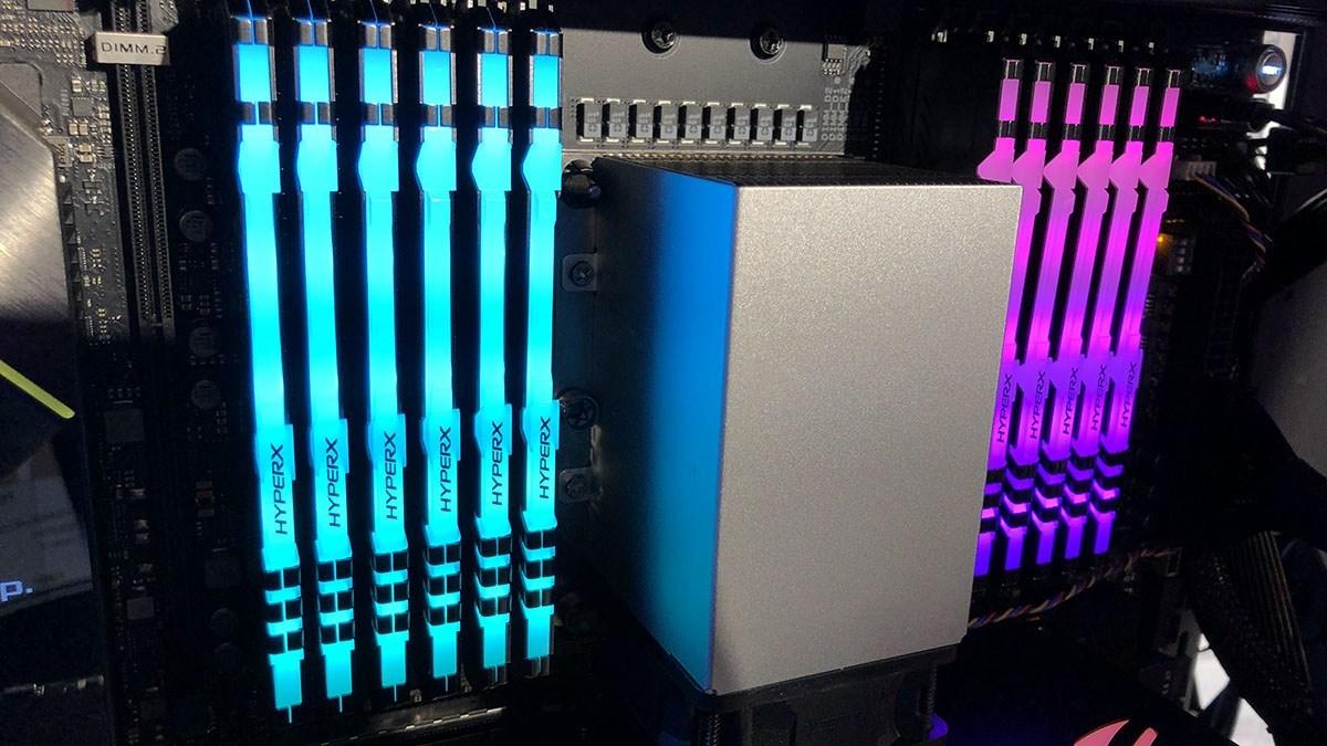 Resultado de imagem para Memórias HyperX FURY DDR4 RGB