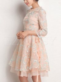 Summer Aline Embroidered Dress | Ezpopsy.com