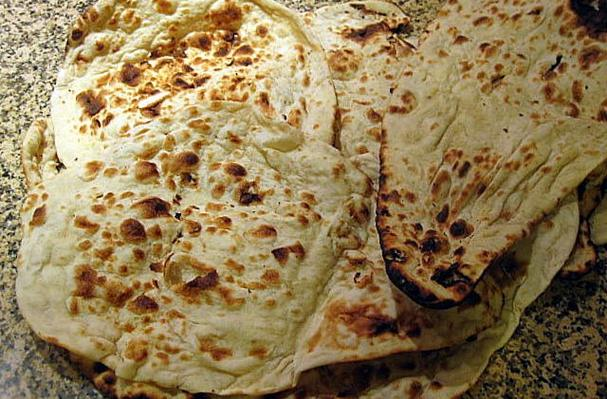 Foodista  Recipes Cooking Tips and Food News  Saj Bread Flat Bread