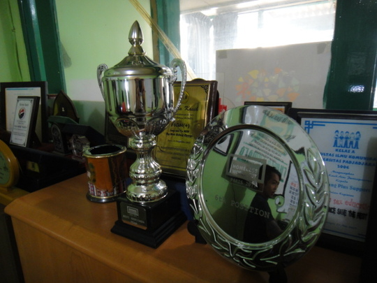 Trophies from the HWC 2011