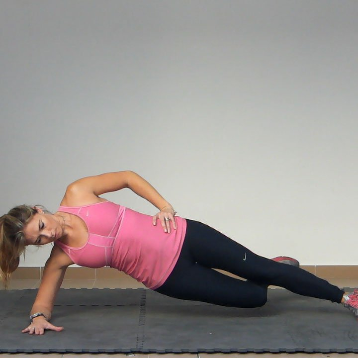 Side Plank with Hip Adduction Exercise  Golf Loopy  Play