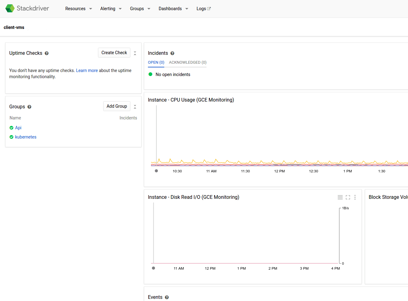 hight resolution of stackdriver monitoring dashboard