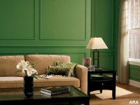 Interior Green Color Painting Ideas For Painting Walls ...