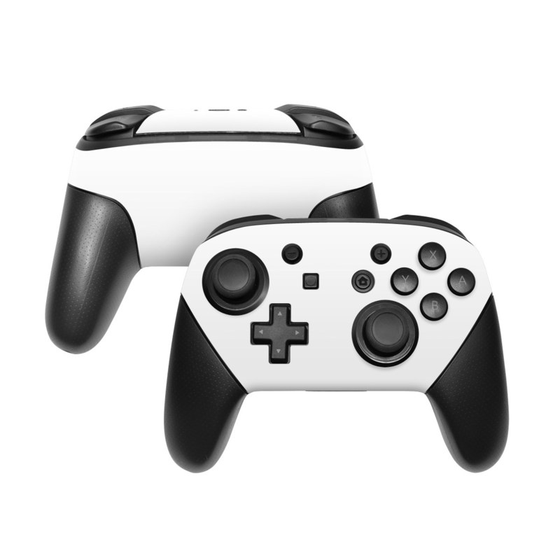 Solid State White Nintendo Switch Pro Controller Skin   iStyles