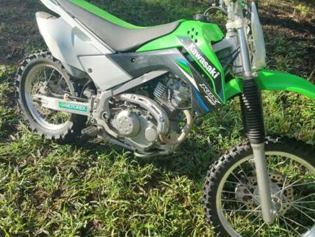 kawasaki klx 140 green used search