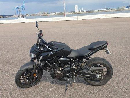 https www theparking motorcycle eu used motorcycles yamaha mt 07 akrapovic html