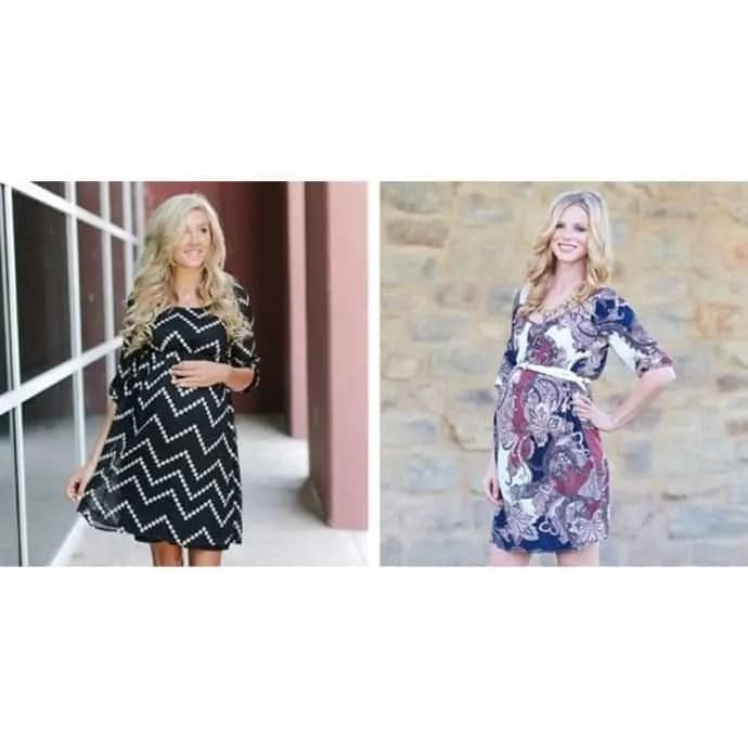 pinkblush maternity printed dresses