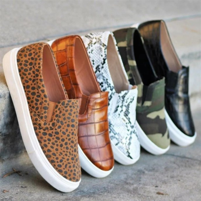 Fresh Slip-On Fashion Sneakers