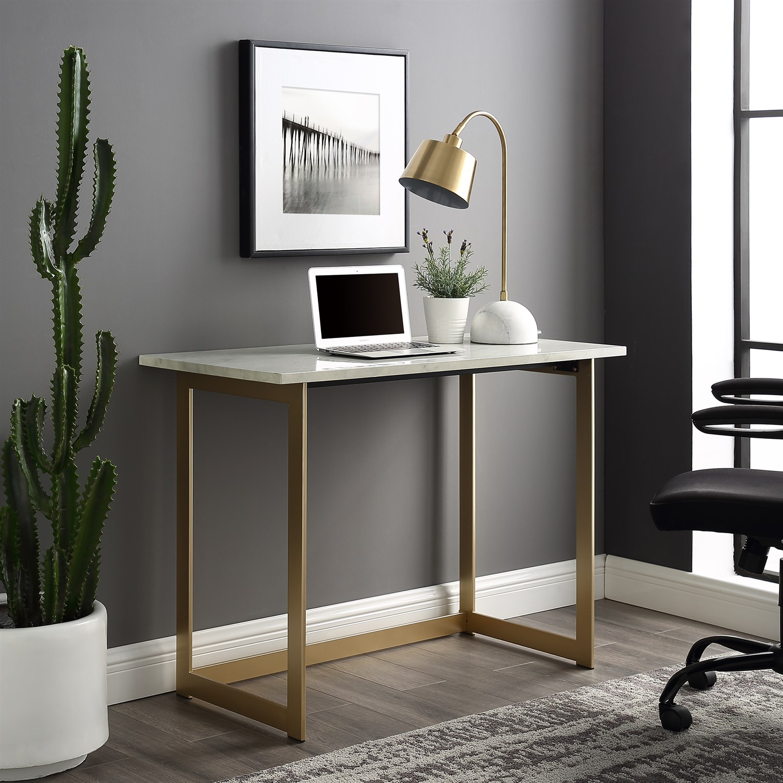 42 Faux Marble Desk  Free Shipping  Jane