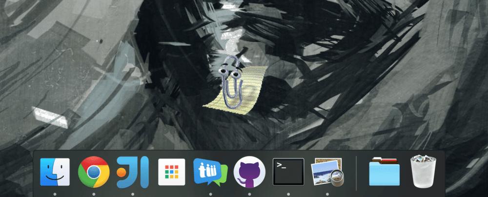 medium resolution of screenshot of clippy desktop on macos